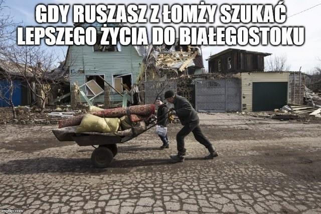 Nowe memy o Białymstoku. W sieci pojawiły się kolejne śmieszne obrazki. Internauci znów śmieją się ze stolicy Podlasia [17.08.2019]