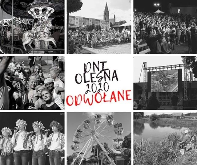 Dni Olesna 2020 zostały oficjalnie odwołane.