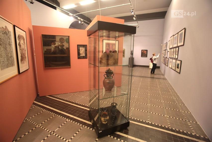 Wystawa w Muzeum Narodowym na 75-lecie polskiego Szczecina. Sztuka nowoczesna, która budowała tożsamość naszego regionu. ZDJĘCIA