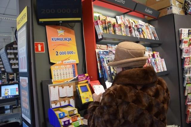 Zwycięzca zagrał w kolekturze Lotto przy al. Niepodległości 10 d w Kraśniku