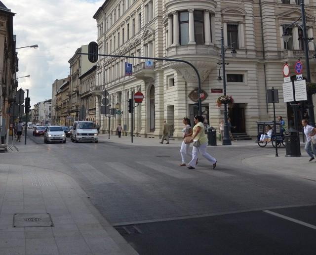 Takich skrzyżowań jak na Piotrkowskiej będzie więcej