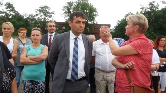 Prezydent Bytomia Damian Bartyla spotkał się z mieszkańcami Bobrka