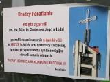 Nadajnik 5G obraża uczucia religijne i profanuje krzyż? Protest wiernych z parafii św. Alberta Chmielowskiego w Łodzi