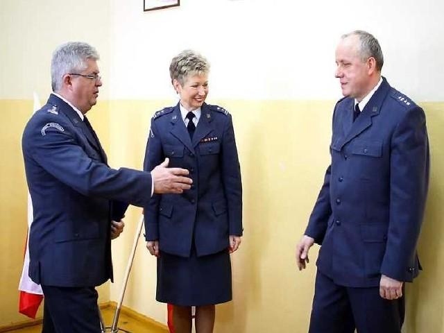 Z lewej Krzysztof Chojecki, Urszula Ossowska i Zbigniew Jażdżewski