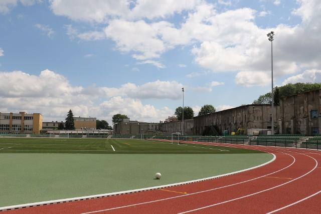 Tak wygląda stadion, po zakończeniu pierwszego etapu modernizacji.