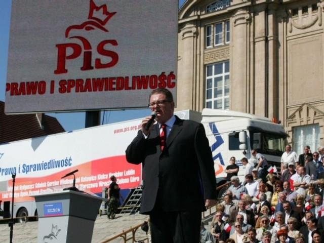 Europarlament - początek kampanii PiSPoczątek kampanii wyborczej PiS do Parlamentu Europejskiego.