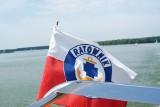 Akcja ratunkowa na Zalewie Koronowskim – wywrócił się duży jacht kabinowy