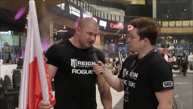 Mateusz Kieliszkowski rywalizował w Dubaju w zawodach World's Ultimate Strongman. Ostatecznie zajął drugie miejsce.