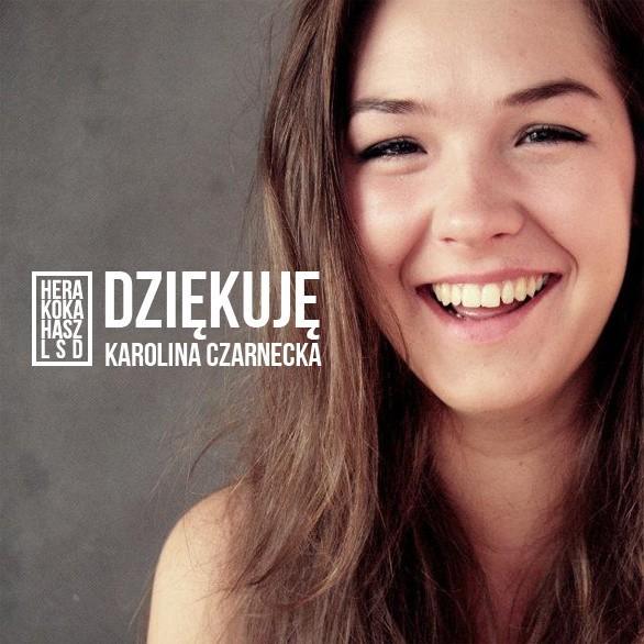 """Karolina Czarnecka i jej """"Hera koka hasz LSD"""": Będzie teledysk! Dzięki Internautom"""