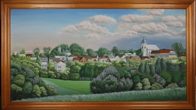 Obrazy udostępnione przez Halinę Kościuczyk, Wiesławę Żmujdzin i Teresę Roszkowską