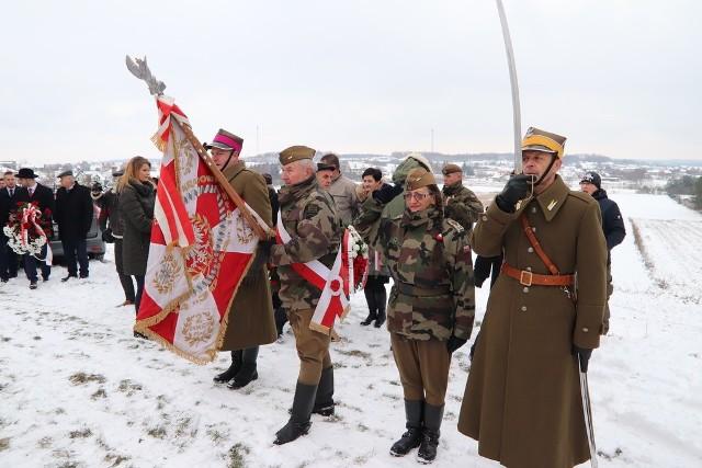 Podczas uroczystości w Łopusznie