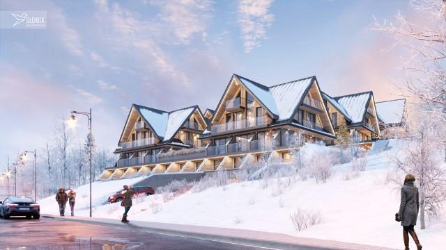 Tak ma wyglądać aparthotel Aries w Bukowinie Tatrzańskiej