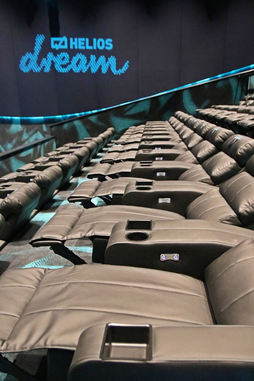 Tak wygląda sala Dream w sosnowieckim kinie Helios....