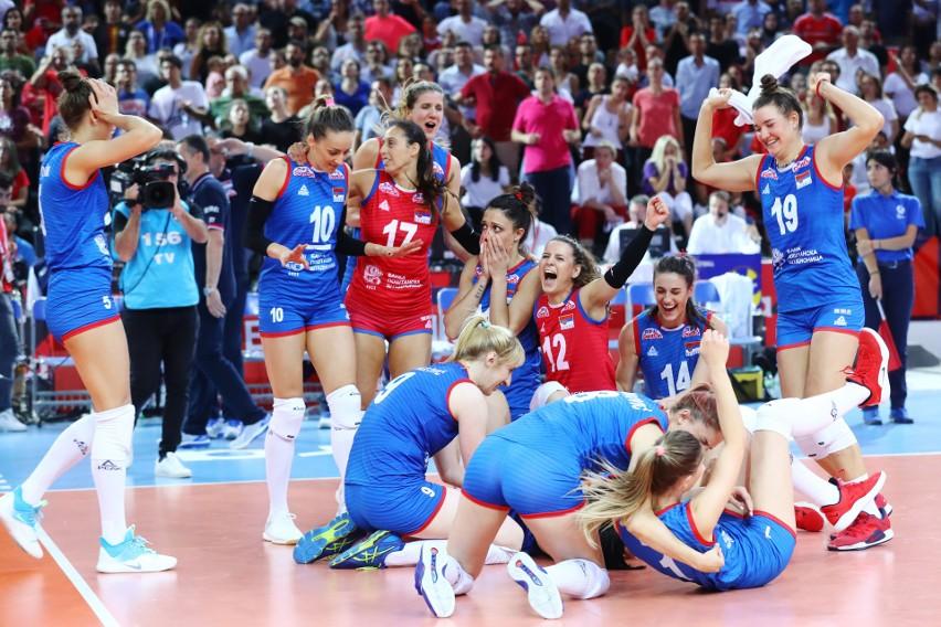Siatkarska reprezentacja Serbii kobiet po raz drugi z rzędu zdobyła złoto na mistrzostwach Europy