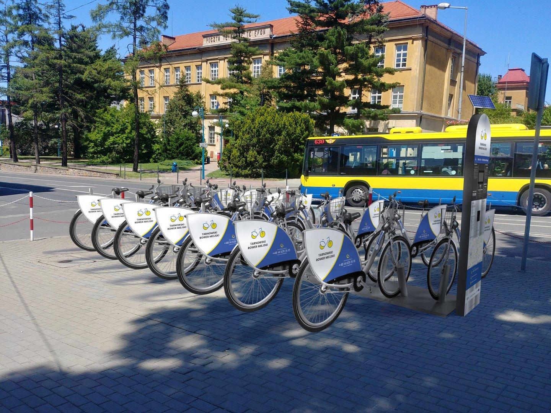 f690150db93040 Tak ma wyglądać stacja rowerów miejskich na Placu Jana Szczepanika