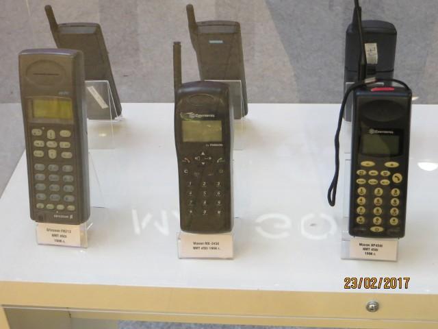 Wystawa telefonów w Magnolii