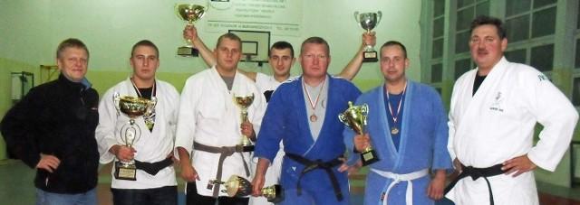 Grupa judoków z Gwardii Koszalin