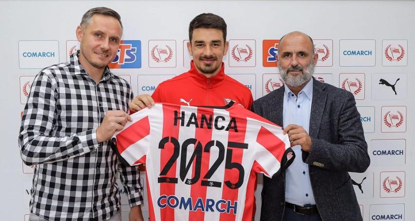 Sergiu Hanca przedłużył umowę z Cracovią