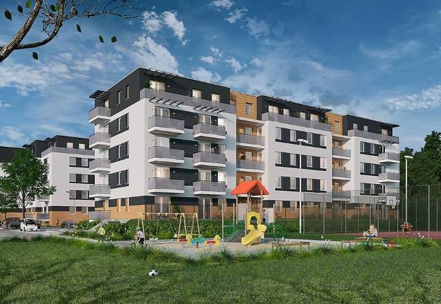 Osiedle Kanada to nowoczesny kompleks składający się z budynków wielorodzinnych zlokalizowanych przy ulicy Wileńskiej