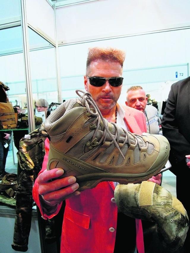 Krzysztof Rutkowski zamierza ubrać swoich pracowników w mundury żołnierzy jednostek specjalnych