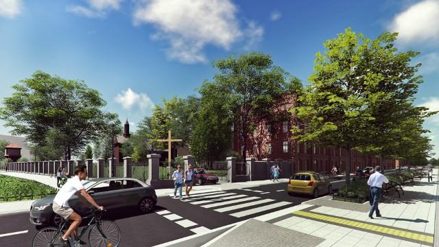Przebudowa ulicy Ogrodowej w Łodzi zacznie się w lipcu. Jak będzie wyglądała Ogrodowa?