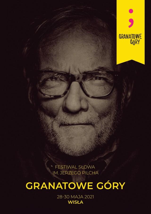 """Festiwal Słowa im. Jerzego Pilcha """"Granatowe Góry"""" odbędzie się od 28 do 30 maja 2021 (piątek-niedziela) w Wiśle."""