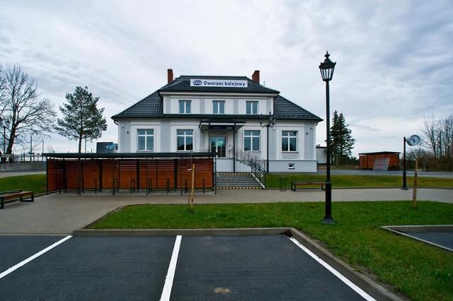 Dworzec PKP w Siemiatyczach został oddany do użytku w 2020 roku. Remont trwał rok.