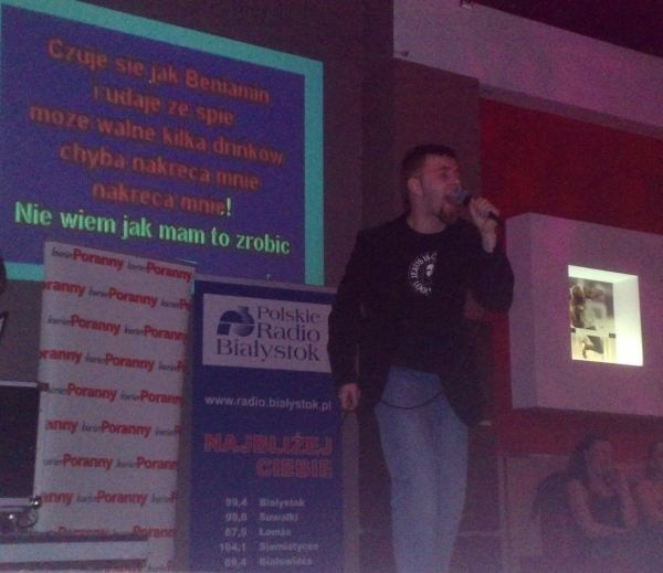 Mistrzostwa karaoke w Białymstoku
