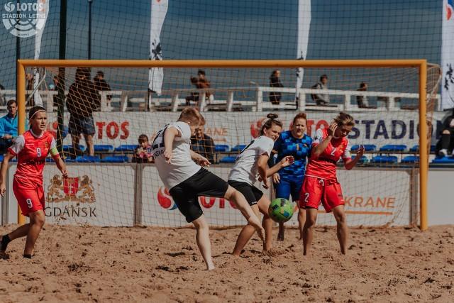 Piłkarki będą rywalizować na plaży w Gdańsku Brzeźnie przez trzy dni