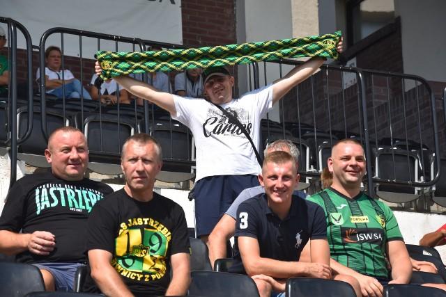 Kibice GKS-u Jastrzębie obejrzeli obiecujący występ swojej drużyny.