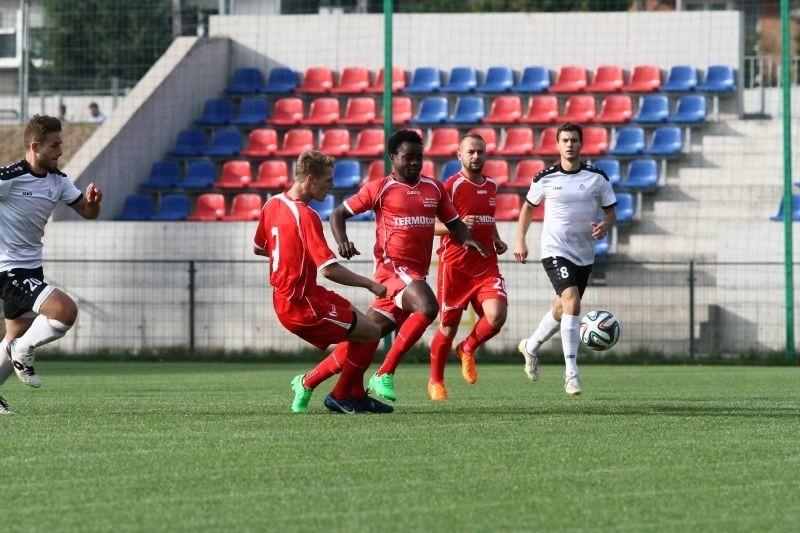 Start Brzeziny vs Widzew Łódź. Widzew wygrał 2:1