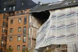 Warszawa: Zawaliła się część kamienicy przy ul. Wrzesińskiej na Pradze-Północ [ZDJĘCIA]
