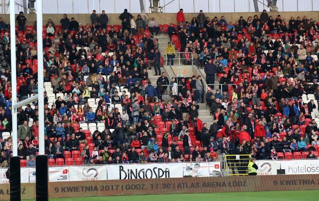 Mecz z Holandią na stadionie Widzewa zgromadził ponad 8 tys. widzów