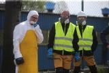 Mysłowice. Rozpoczęła się likwidacja nielegalnego składowiska w Brzezince. Jest tu ok. 8 tys. ton niebezpiecznych odpadów