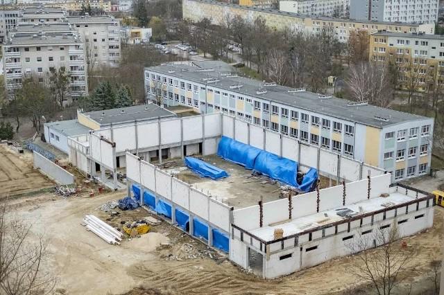 Budowa hali sportowej na osiedlu Pod Lipami ponownie ruszy we wrześniu