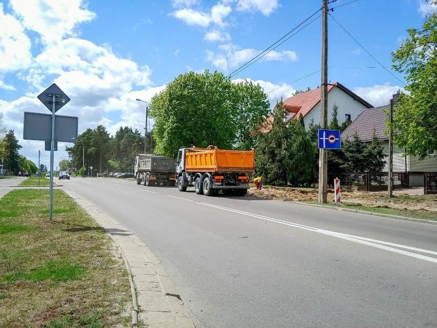 Rozpoczyna się przebudowa skrzyżowania ul. Słonecznej i...