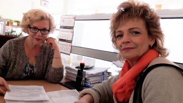 Dorota Kozłowska, starszy komisarz skarbowy z II Urzędu Skarbowego przy ulicy Częstochowskiej w Kielcach udzielałała w poniedziałek od rana informacji setkom podatników, wśród nich Małgorzacie Zalewskiej, która składała korektę zeznania