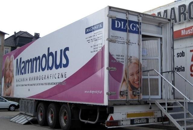 Badania wykonywane będą w specjalnym mammobusie, który zaparkuje przed Intermarche.