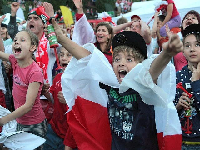 Podczas meczu Polska - Czechy było emocjonująco