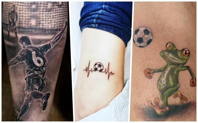 Piłkarskie tatuaże stają się coraz bardziej popularne. Nie masz pomysłu jak ozdobić swoje ciało? Zobacz inspiracje z całego świata.