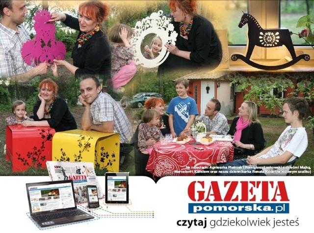 """""""Laskowscy Design"""" - odkryliśmy tę firmę i jej pomogliśmy."""