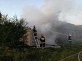 Strażacy walczyli z ogniem 6,5 godziny (zdjecia)