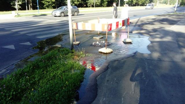 Awaria wodociągowa na Wejherowskiej