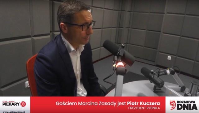 Piotr Kuczera, prezydent Rybnika, dzisiejszy Gość DZ i Radia Piekary
