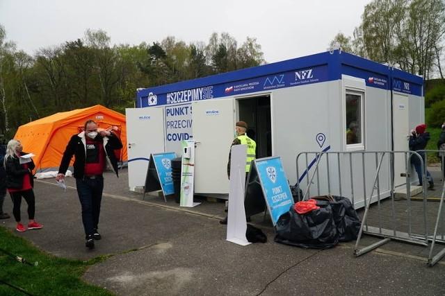 Poprzednia akcja z mobilnym punktem szczepień odbyła się na początku maja w Poznaniu nad jeziorem maltańskim