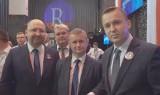 Adam Bielan europoseł i lider Partii Republikańskiej wsparł kandydaturę Jacka Wilka w wyborach na wójta Tuczęp [WIDEO]