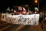 Wrocław: Uczcili pamięć Romana Dmowskiego. Przemaszerowali przez centrum [ZDJĘCIA]