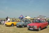 Zlot klasycznych samochodów w Lesznie dzień po zakończeniu Antidotum Air Show [FOTO]