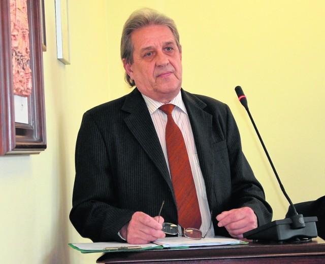 Ryszard Dykowski z Lińska zabrał głos w imieniu mieszkańców Główki w sołectwie Zwierzyniec