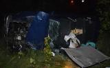 Tragiczny wypadek pod Toruniem. 2-latek nie żyje, 3-letni brat w szpitalu. Za kierownicą matka pod wpływem alkoholu